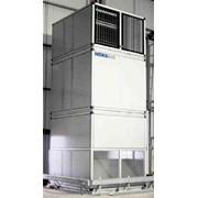 Системы нагрева воздуха с функцией циркуляции Nordair Niche для складских помещений и логистических центров фото