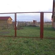 Ворота садовые фото