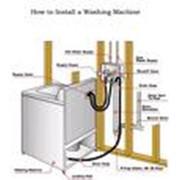Ремонт и подключение стиральной машины фото