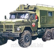 Модель ICM 1/72 Зил-131, подвижный командный пункт фото