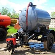 Прицеп-цистерна вакуумная для трактора МТЗ-80, 82 фото