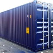 Морской контейнер фото
