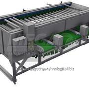 Калибровщик для овощей роликовый KRU-1000 фото