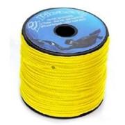 Линь salvimar dyneema 1,4 мм, желтый 50 метров 120кг на разрыв фото