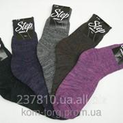 Носки женские зимние Step вязка фото