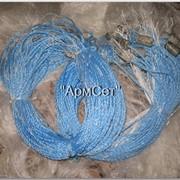 Рыболовная сеть одностенка, плаха, ячея 25мм, высота 1,8 м, длина 100м фото