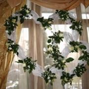 ООформление свадеб, оформление цветами. фото
