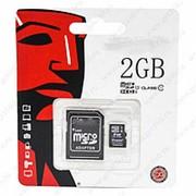 MicroSD Class 10 2 гигабайта + фото