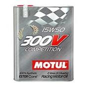 Моторное масло MOTUL 300V COMPETITION 15W50 2л фото