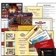 Печать буклетов, флаеров, календарей фото