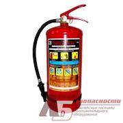 Воздушно-пенный огнетушитель ОВП-10(з)-АВ морозостойкий заряженный фото