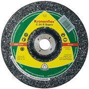 Круг зачистной C 24 R Supra KLINGSPOR - Kronenflex (125мм*6мм) Камень / бетон / чугун фото