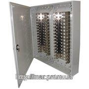 Настенная коробка под 30 плинтов, пластик, замок с ключем 420*450*75 фото