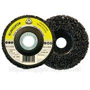 Шлифовальный зачистной круг 125мм (под болгарку) Klingspor NCD 200 - аналог PW 2000 фото