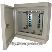 Настенная металлический шкаф с замком на 5 плинтов 310*300*130 фото