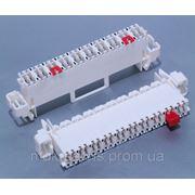 Плинт C5C-MZ-10-W-T-G, гелезаполненный, с нормально-замкнутыми контактами, маркировка 1...0, Tyco Electronics фото