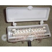Коробка распределительная телефонная КРТЕ-10Н с 10-парным размыкаемым плинтом типа LSA-Plus Krone фото