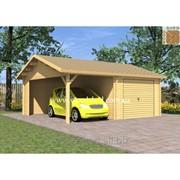 Деревянный гараж Златоус фото