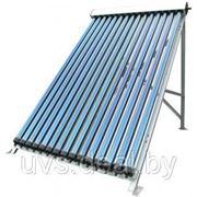 Солнечный коллектор Heat Pipe, состоящий из 30шт. вакуумных стеклянных трубок, в комплекте с монтажной рамой. фото