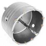 Комплект: сверло корончатое по бетону 105мм + переходник SDS Plus 100мм Intertool SD-7105 фото