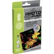 Фотобумага для струйной печати CACTUS матовая 50 листов, 10х15 см фото
