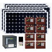 Автономная дача MAXIMUM. Мощность солнечных панелей - 1200 Вт фото