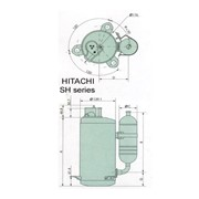Компрессор Hitachi HIGHLY SHX33SC4-S фото