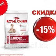 Сухой корм для щенков Royal Canin Medium Starter 12 кг фото