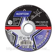 Диски шлифовальные по металу Norton Starline (в ассортименте) фото