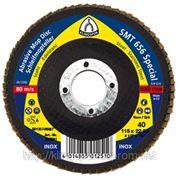 КЛТ Лепестковый тарельчатый круг SMT 656 (125мм) фото