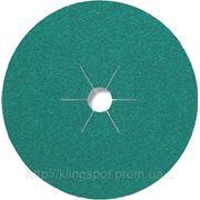 Круг фибровый Klingspor CS 661, связка МУЛЬТИ 125мм*22мм Р60 КЕРАМИЧЕСКИЙ ЭЛЕКТРОКОРУНД фото