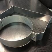 Хомут из нержавеющей стали: стеновой 90мм, диаметр (ф100) фото