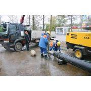 Строительство водопроводных и канализационных сетей фото