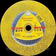 Круг отрезной KRONENFLEX 180x3,0x22,23 мм (камень) фото