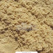 Песок карьерный белый фото