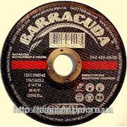 Диск отрезной по металлу BARRACUDA 125*1,2*22,23 фото