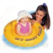 Надувной детский круг-ходунки Intex 59574 67см фото