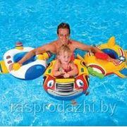 Надувной детский круг-ходунки Intex 59586 фото