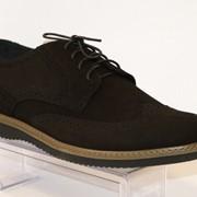Туфли мужские черные Faber 127205 фото