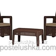 Набор садовой мебели Tarifa Balcony Set коричневый фото