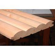 Доски обрезные необрезные деревянные Блок-хауз фото