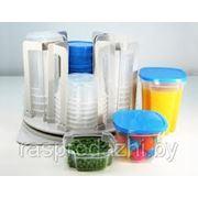 Набор контейнеров для продуктов Spin and Store (Спин энд Сторе) Spin N Store 49 предметов фото