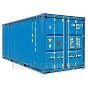Морские контейнеры фото