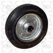 Колеса промышленные с черной резиной C фото