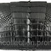 Сумка-клатч из кожи крокодила FCM 320 Black фото