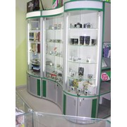 Витрины для магазинов оргтехники и фототоваров фотография