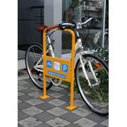Установка велосипедных парковок фото