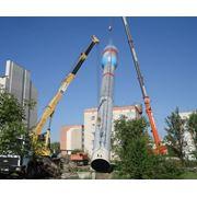 Установка водонапорных башен фото