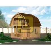 Дом с бруса Проект №5 (6х6) фото