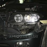 Замена линз и ангельских глазок BMW X5 E53 фото